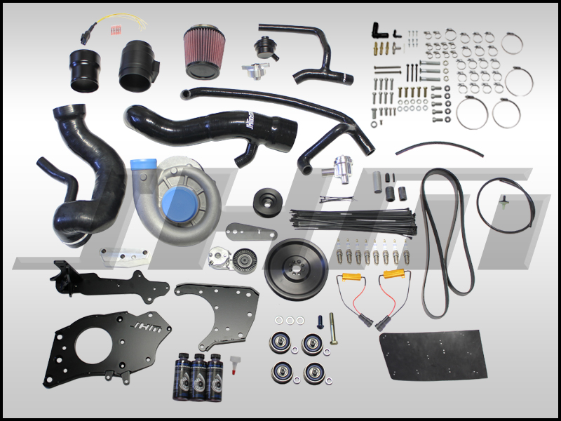 JHM Supercharger Kit for B7-RS4, Stage 1