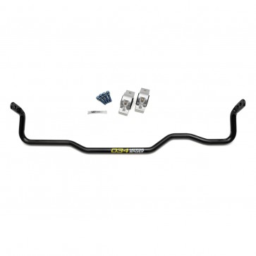 Solid Rear Sway Bar Upgrade, Adjustable MQB,(034) MkVII Volkswagen Golf R, 8V Audi A3/S3 Quattro, & MkIII Audi TT/TTS