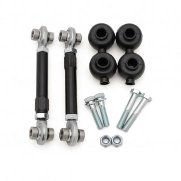 Sway Bar End Link Pair, Front, Motorsport Line, Adjustable (034Motorsport) for B8 A4-S4 A5-S5-RS5 Q5-SQ5, C7 A6-S6-A7-S7-RS7