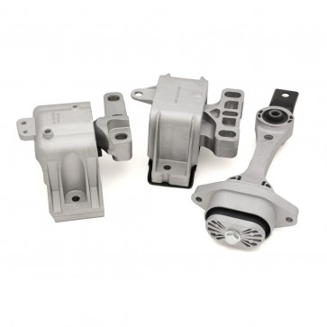 Motor Mount Set, Engine, Trans., Dogbone  - STREET DENSITY (034Motorsport) for MkIV VW, 8L, 8N Audi 1.8T, 2.0L, TDI