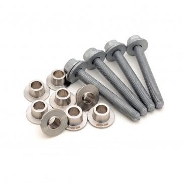 Front Subframe Locking Collar Upgrade Kit,(034)for MQB 8V/8S Audi A3/S3 & TT/TTS, Stainless Steel