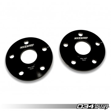 WHEEL SPACER PAIR (034Motorsport), 15MM, AUDI/VOLKSWAGEN 5X112MM WITH 57.1MM CENTER BORE