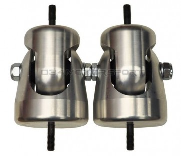 Motor Mounts - Pair (Motorsport Line) for B5 Passat, B5-S4, B5-B6-B7 A4, C5-A6 V6, 10MM & 8MM Hardware