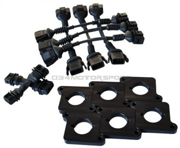 Coil Conversion and ICM Delete Kit - BLACK (034 Motorsport), 2.7T to 2.0T FSI Coil Packs