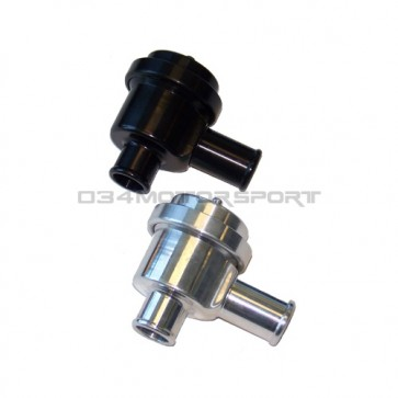 Diverter Valve, Billet Aluminum - BLACK (Bypass) Valve Upgrade for Audi/Volkswagen 1.8T, 2.2T, 2.7T, 4.2T