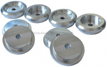 Subframe Bushings, Front, Aluminum (034Motorsport) for B5-B6-B7 A4-S4-RS4