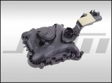Oil Separator, Pressure Control Valve PCV (OEM) for 3.0 TFSI Engines Q7 and (Early, up to 2012 for C7 A6-A7, B8 S4-S5) - confirm by vin or original PN