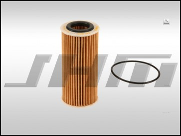 Oil Filter (MAHLE) for MK7-8V Golf-GTI-A3-S3-Q3-TT-TTS 1.8T-2.0T TFSI-TSI MQB, B9 A4-A5 2.0T