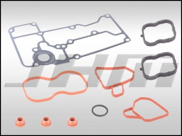 Gasket Installation Kit for Stainless Braided Turbo Oil Line and Strainer/Screen Relocation Kit (JHM-Serviceable)  TSB-2044640 on C7 S6-S7-RS7 and D4 A8-S8 4.0T