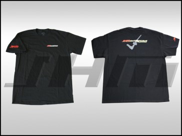 """T-shirt (JHM) JHM on Front, """"JHM Shifter"""" on Back"""