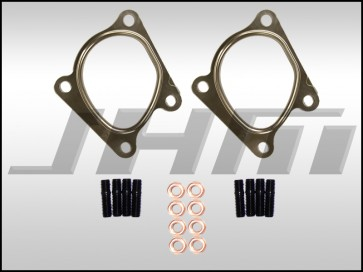 Hardware Kit for Downpipe Replacement (JHM) on 2.7T w/ RS6 Turbos