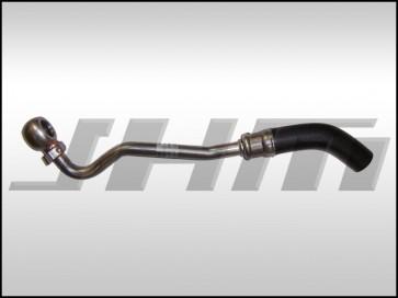 Turbo Coolant Line, Return, (OEM) Passenger side (OEM) for 2.7T