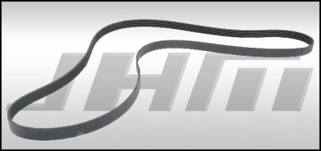 Supercharger Belt (Bando) - 56-57mm Blower Pulley & 187mm Crank pulley for B8-B8.5, S4-S5, C7 A6-A7, Q7 and B8 Q5-SQ5 3.0T FSI