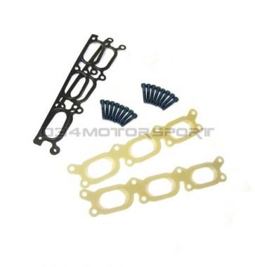 Intake Manifold Spacers (034), TRANSITION port, Phenolic, Audi B5 A4/S4/RS4 C5 A6/Allroad 2.7T & 2.8L 30V V6