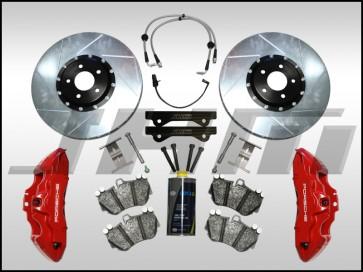 Front BBK (Big Brake Kit) JHM 382mm Porsche 19Z (Brembo 6-piston) for B8 A4-A5-S4-S5-Q5