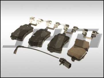 Brake Pad Set, Rear Ultra-Premium Ceramic (Akebono) for C7 A6-A7 3.0T B8-RS5 4.2L