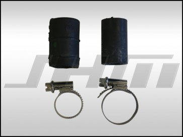 JHM Cap and Clamp Kit for Oil Cooler and Auxiliary Radiator Deletion for B6/B7 S4 and C5-allroad w chain 4.2L