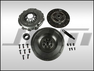 Flywheel and Clutch Kit, Single-Mass Conversion-Upgrade (Valeo) for 2.7t