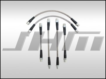 Brake Line Kit-Stainless (JHM) Front and Rear Lines for B5-S4