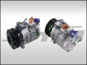AC Compressor (Denso-OEM) for B5 A4-S4, C5 A6-S6-RS6-allroad and D2 A8-S8 w 4.2l T-belt V8 or 2.8l-2.7t V6