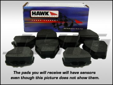 Front Brake Pads - Hawk HPS (Street) for B5 S4 and C5 A6
