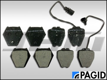 Front Brake Pads - Pagid/Textar (OEM) for B5 S4 and C5 A6