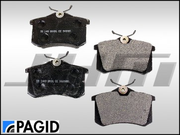 Rear Brake Pads - Pagid/Textar (OEM) for B5-S4, C5-A6-allroad with V6, B6-A4 All