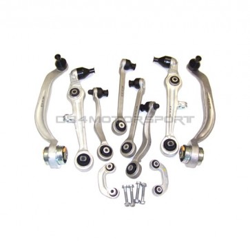 Front Control Arm Kit (034) Density Line for B5-C5 A4-S4-A6, Passat w/ Steel Uprights