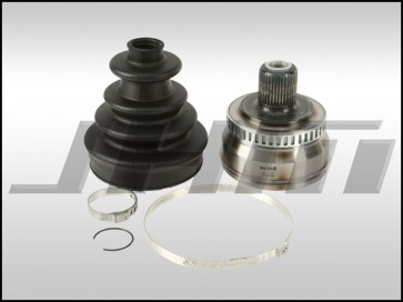 CV Joint and Boot Kit, Front, Outer (OEM-GKN) for B6-A4 1.8T 6-Speed Manual