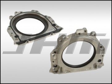 Crankshaft Seal, Rear or Rear Main Seal with Sealing Flange (Elring) for B6-B7 A4 1.8T, 2.0T
