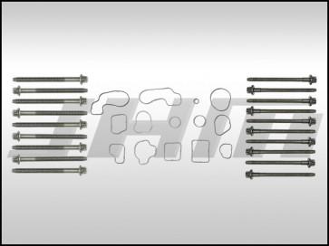 Reseal Kit for Upper Oil Pan, Block Coolant O-Rings, and Main Girdle (OEM) for B6-B7 S4, C5 allroad 4.2L V8 (40v)