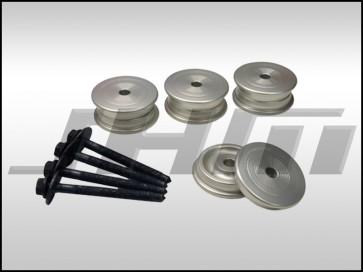 Subframe Bushing Kit, Rear (034Motorsport) Billet Aluminum for B6-B7 A4-S4-RS4