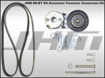 JHM Automatic Belt Tensioner Conversion Kit for B6-B7 S4 and C5-allroad w 4.2L V8 (40v)