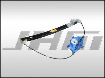 Window Regulator, Rear Right-Passenger Side B6-B7 (OEM)