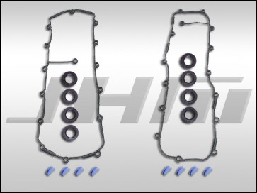Valve Cover Gasket Kit(Both w cam-spark plug seals) for B6/B7 S4 and C5-allroad w chain 4.2L