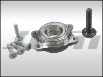 Front or Rear Wheel Bearing Kit (NTN-OEM w bolts) for B6-B7 A4-S4-RS4 and Front only for Early B5 S4