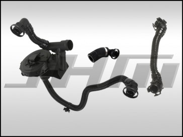 Breather Hose and PCV Replacement 3-piece kit VIN split Kit (MIDDLE VIN) (VAICO-OEM) for B6 A4 and C6 A6 w 3.0l V6