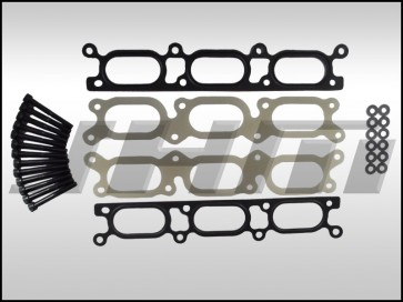 JHM Intake Manifold Spacers (5mm thick, Phenolic) for B6-A4 and C5-A6 w 3.0L V6