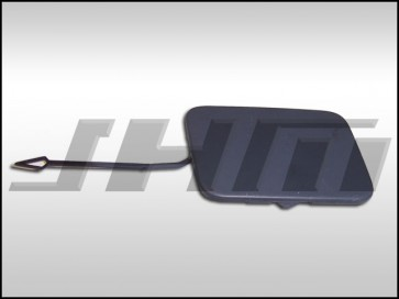 Front Bumper Tow Hook Cover (OEM primed) for B6 S4