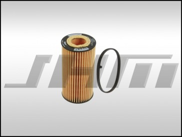 Oil Filter (Hengst), for B7-A4, 8P-A3, 8J-TT MK5-Golf-Jetta-EOS MkV, B6-Passat w 2.0T