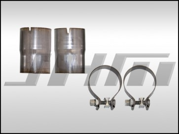 Exhaust - Adapter-Reducer - 2.75 inch to 2.5 inch for JHM B7-RS4 2.75 inch Catback to Stock Downpipes