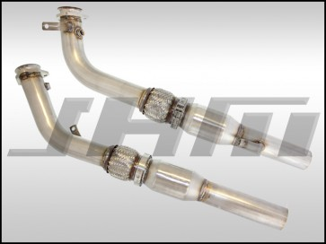 Exhaust - Downpipes - JHM B7-RS4 Stainless Steel 2.75 Inch