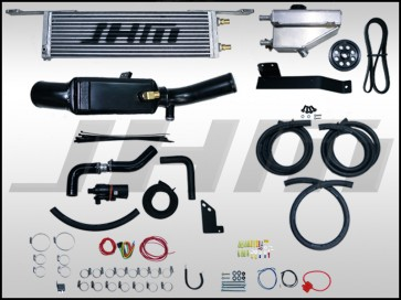 JHM Stage 2 Supercharger Kit Upgrade with 4.5 in Pulley for the B8-S5 4.2L