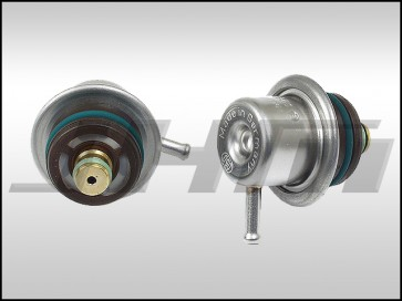 Fuel Pressure Regulator (3 bar) - FPR for Audi-VW 2.7t, 1.8t, 2.0l, 2.8l and 4.2l V8 (OEM) Bosch