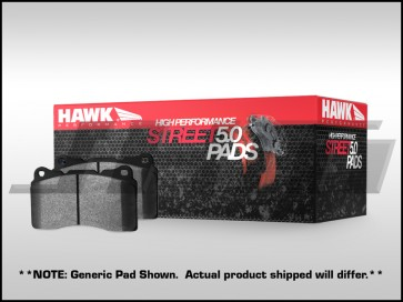 Front Brake Pads - Hawk HPS 5.0 (Street) for Porsche Cayenne Caliper 350mm