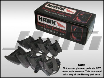 Front Brake Pads - Hawk DTC-70 (Race) for C5 RS6, R8, B7 RS4 and B8 RS5, LAMBORGHINI GALLARDO