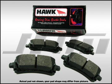 Rear Brake Pads - Hawk HP Plus (Race) for VW Phaeton, C5-RS6, C6-A6 3.0T or 4.2l, C6-S6, D3 A8 4.2, D3 S8 and B6-B7 S4-RS4