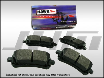 Rear Brake Pads - Hawk HPS (Street) for VW Phaeton, C5-RS6, C6-A6 3.0T or 4.2l, C6-S6, D3 A8 4.2, D3 S8 and B6-B7 S4-RS4