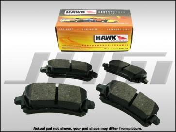 Rear Brake Pads - Hawk Ceramic(Street) for VW Phaeton, C5-RS6, C6-A6 3.0T or 4.2l, C6-S6, D3 A8 4.2, D3 S8 and B6-B7 S4-RS4