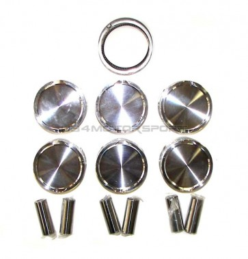 Piston set (JE) w rings and pins (lighter than stock) for 2.7t